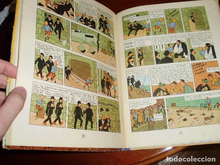 Cómics: TINTIN PRIMERA EDICION ISLA NEGRA 1961 JUVENTUD .... 3-2-1... ¡¡¡ BOOOM !!! - Foto 6 - 108541439