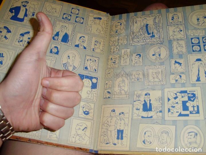 Cómics: TINTIN PRIMERA EDICION ISLA NEGRA 1961 JUVENTUD .... 3-2-1... ¡¡¡ BOOOM !!! - Foto 9 - 108541439