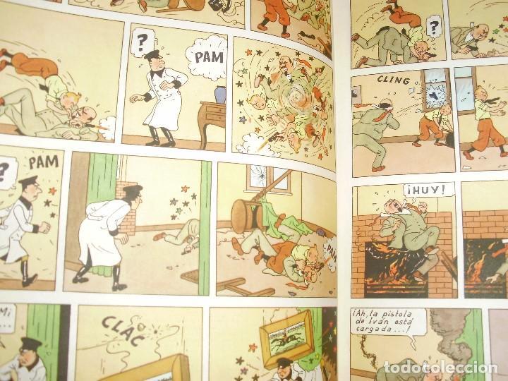 Cómics: TINTIN PRIMERA EDICION ISLA NEGRA 1961 JUVENTUD .... 3-2-1... ¡¡¡ BOOOM !!! - Foto 11 - 108541439