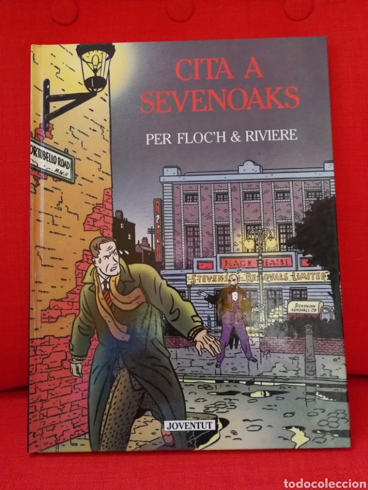 CITA A SEVENOAKS. EDITORIAL JOVENTUT. 1°EDICIÓN. CATALÀ. DIFÍCIL (Tebeos y Comics - Juventud - Otros)