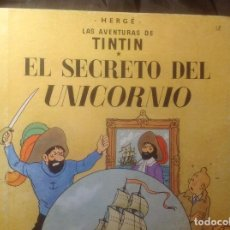 Cómics: EL SECRETO DEL UNICORNIO 4ª EDICIÓN 1968. Lote 108923123