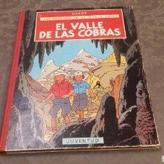 Cómics: JO, ZETTE Y JOCKO. EL VALLE DE LAS COBRAS. HERGÉ PRIMERA EDICIÓN 1972 JUVENTUD. Lote 109049376