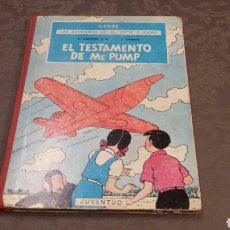 Cómics: JO, ZETTE Y JOCKO. EL TESTAMENTO DE MR PUMP HERGÉ PRIMERA EDICIÓN 1970 JUVENTUD. Lote 109050959