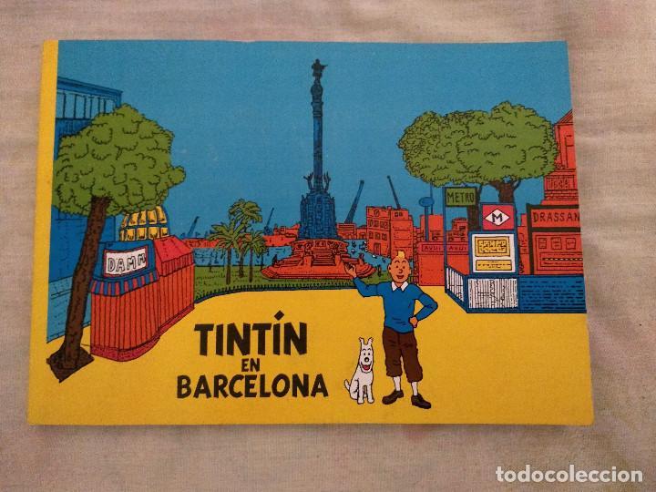 TINTIN EN BARCELONA - APÓCRIFO - TINTIN Y MASSAGRAN D30 (Tebeos y Comics - Juventud - Tintín)