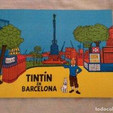 Cómics: TINTIN EN BARCELONA - APÓCRIFO - TINTIN Y MASSAGRAN D30. Lote 194218693