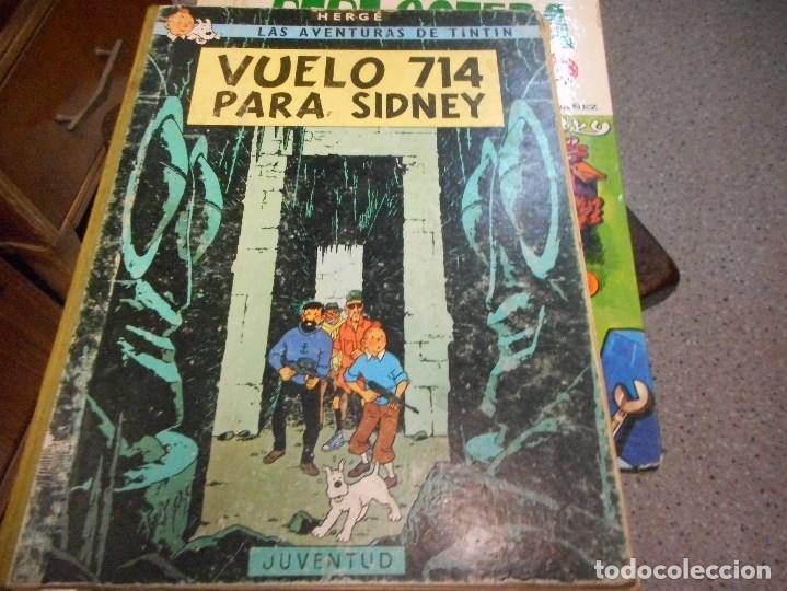 TINTIN VUELO 714 SEGUNDA EDICION (Tebeos y Comics - Juventud - Tintín)