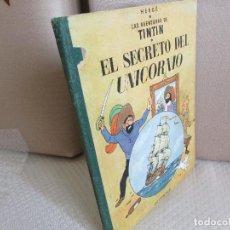 Cómics: TINTIN EL SECRETO DEL UNICORNIO PRIMERA. Lote 110186103