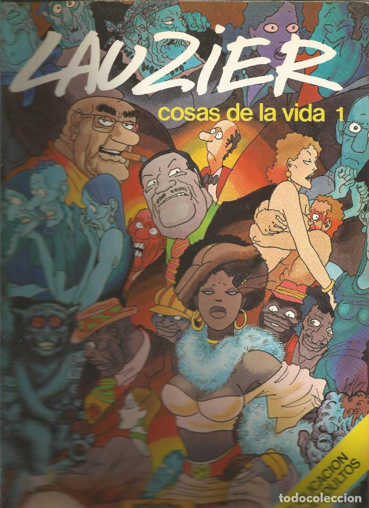 LAUZIER COSAS DE LA VIDA 1 EDICIONES JUNIOR (Tebeos y Comics - Juventud - Otros)
