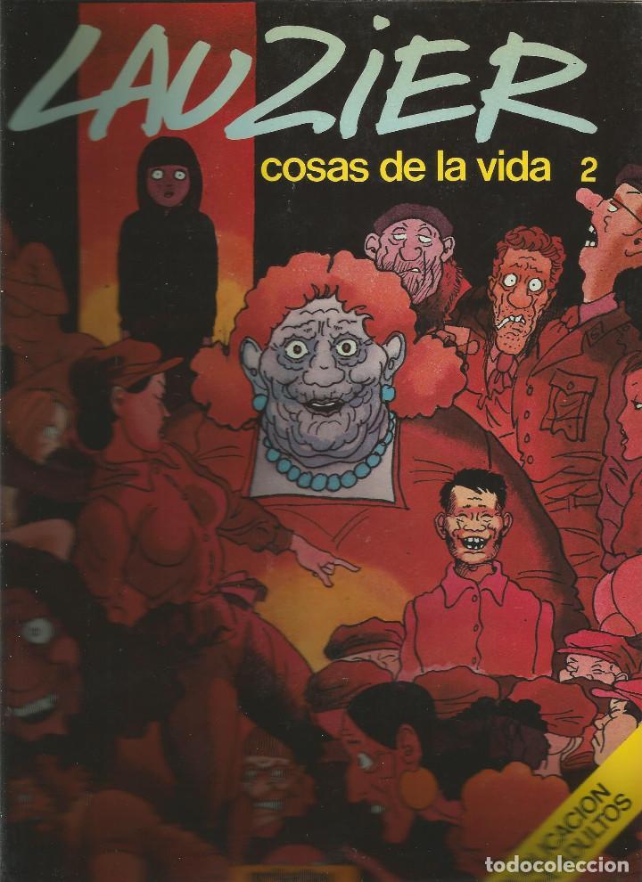 LAUZIER COSAS DE LA VIDA 2 EDICIONES JUNIOR (Tebeos y Comics - Juventud - Otros)