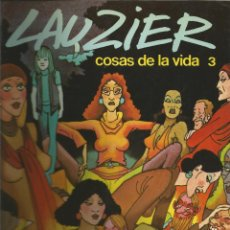 Cómics: LAUZIER COSAS DE LA VIDA 3 Nº 3 EDICIONES JUNIOR. Lote 110633323
