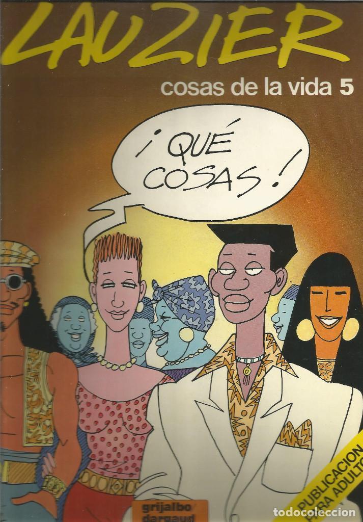 LAUZIER COSAS DE LA VIDA 5 EDICIONES JUNIOR (Tebeos y Comics - Juventud - Otros)