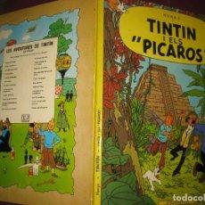 Cómics: TINTIN I ELS PICAROS. HERGE. EDITORIAL JOVENTUT TERCERA EDICIO 1982.. Lote 110674043