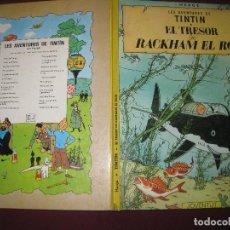 Comics - HERGE. LES AVENTURES DE TINTIN . EL TRESOR DE RACKHAM EL ROIG. EDITORIAL JOVENTUT. 1982. - 110674987