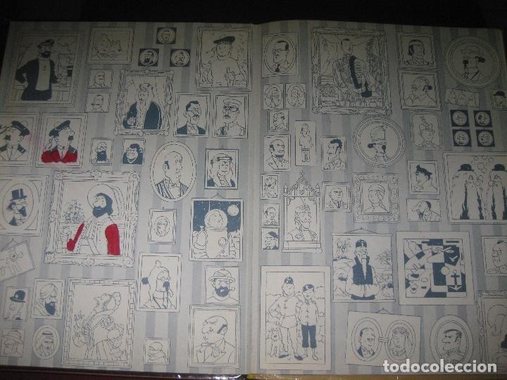 Cómics: HERGE. LES AVENTURES DE TINTIN . TINTIN AL PAIS DE L'OR NEGRE. EDITORIAL JOVENTUT. 1981. - Foto 2 - 110675075