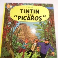 Cómics: TINTIN I ELS PICAROS - CATALAN - TAPA DURA - EDIT ED JOVENTUT - 1983 CUARTA. Lote 110782891