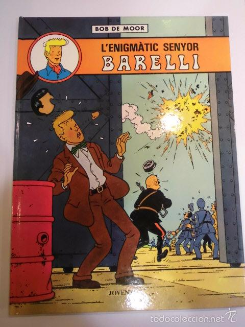 L'ENIGMATIC SENYOR BARELLI - CATALAN - TAPA DURA - EDIT ED JOVENTUT - 1990 (Tebeos y Comics - Juventud - Barelli)