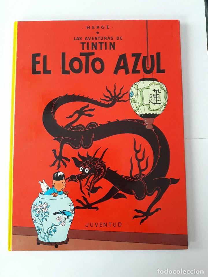 TINTÍN Y EL LOTO AZUL. (Tebeos y Comics - Juventud - Tintín)