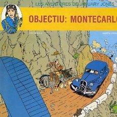 Cómics: COMIC TAPA DURA LES AVENTURES DE JANUARY JONES / OBJECTIU MONTECARLOS EDITORIAL JUVENTUD. Lote 110949459
