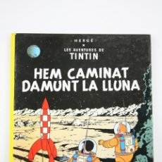 Cómics: CÓMIC TINTÍN TAPA DURA EN CATALÁN - HEM CAMINAT DAMUNT LA LLUNA - ED. JUVENTUT, AÑO 1990. Lote 110962127