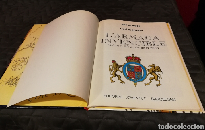 Cómics: CORI EL GRUMET - L´ ARMADA INVENCIBLE. VOLUM - 1 ELS ESPIES DE LA REINA- 1° EDICIÓN.CATALA - Foto 4 - 111262007