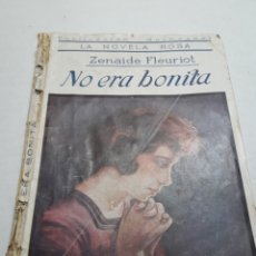 Cómics: NOVELA ROSA NO ERA BONITA AÑO 1926. Lote 111445420
