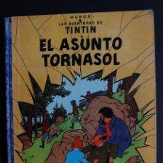 Comics: TINTIN : EL ASUNTO TORNASOL. 1ª EDICIÓN FEBRERO 1961 LOMO EN TELA AZUL HERGÉ JUVENTUD. Lote 111513019