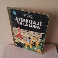 Cómics: TINTIN - ATERRIZAJE EN LA LUNA - EDITORIAL JUVENTUD DE 1965. Lote 111584071