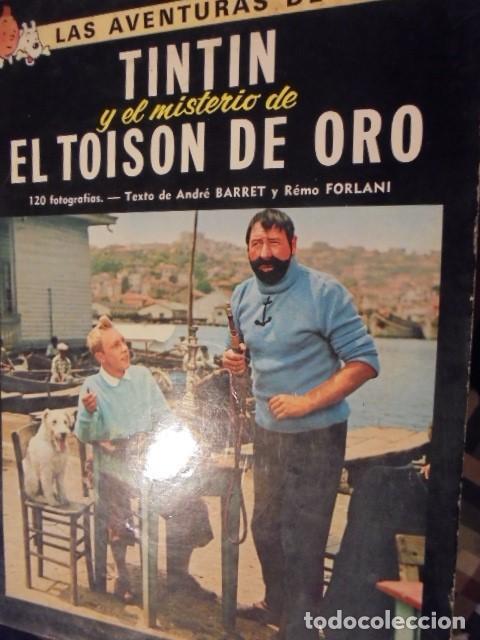 TINTIN CINE EL MISTERIO TOISON DE ORO - JUVENTUD 1975 / 3ª EDICION - LOMO AMARILLO (Tebeos y Comics - Juventud - Tintín)