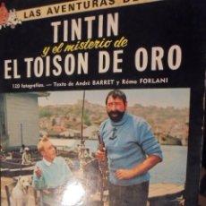 Cómics: TINTIN CINE EL MISTERIO TOISON DE ORO - JUVENTUD 1975 / 3ª EDICION - LOMO AMARILLO. Lote 111932431