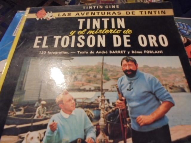 Cómics: TINTIN CINE EL MISTERIO TOISON DE ORO - JUVENTUD 1975 / 3ª EDICION - LOMO AMARILLO - Foto 2 - 111932431