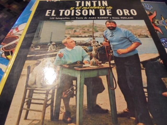 Cómics: TINTIN CINE EL MISTERIO TOISON DE ORO - JUVENTUD 1975 / 3ª EDICION - LOMO AMARILLO - Foto 3 - 111932431