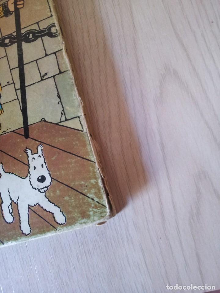 Cómics: TINTIN - EL CETRO DE OTTOCAR - EDITORIAL JUVENTUD - CUARTA EDICION 1968 - Foto 5 - 112038051