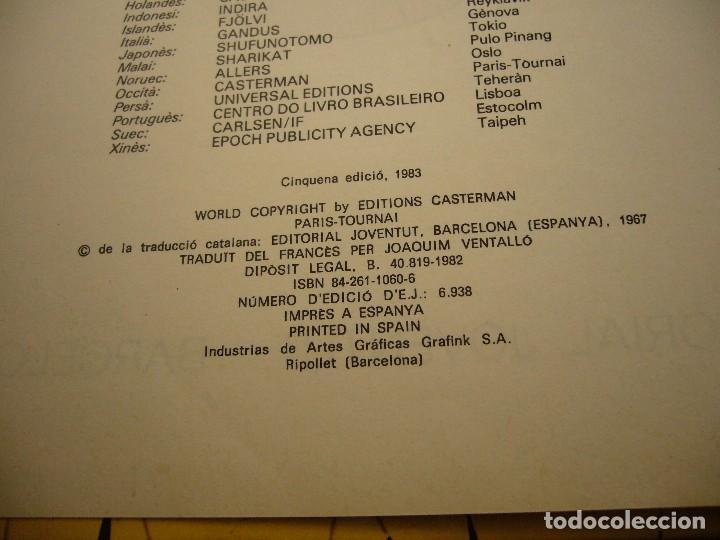 Cómics: TINTIN, L'AFER TORNASSOL 1983 Cinquena EDICIO - Foto 4 - 112305099