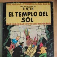 Fumetti: TINTIN - EN EL TEMPLO DEL SOL - SEGUNA EDICIÓN 1961. Lote 112658119
