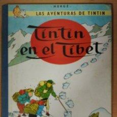 Cómics: TINTIN EN EL TIBET - EDICIÓN 1965. Lote 120056811
