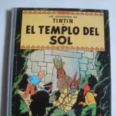 Cómics: EL TEMPLO DEL SOL. LAS AVENTURAS DE TINTÍN - HERGÉ (JUVENTUD, 1961). LOMO TELA TAPA DURA 2ª EDICIÓN. Lote 112952095