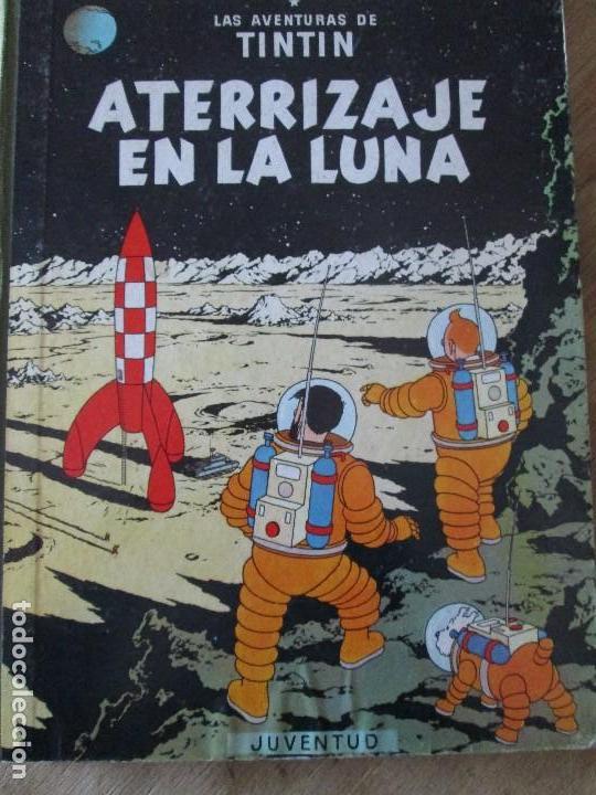 HERGE-TINTIN-ATERRIZAJE EN LA LUNA (Tebeos y Comics - Juventud - Tintín)