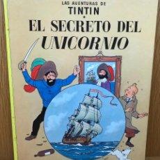 Cómics: LAS AVENTURAS DE TINTIN - HERGÉ - EL SECRETO DEL UNICORNIO - JUVENTUD - AÑO 1983. Lote 113412759
