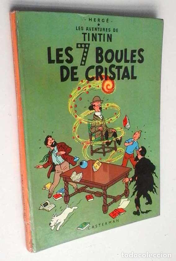 TINTÍN LES 7 BOULES DE CRISTAL. EDIT. CASTERMAN. EN FRANCÉS. 1966 (Tebeos y Comics - Juventud - Tintín)