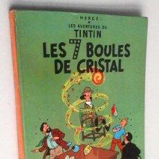 Cómics: TINTÍN LES 7 BOULES DE CRISTAL. EDIT. CASTERMAN. EN FRANCÉS. 1966. Lote 113648799