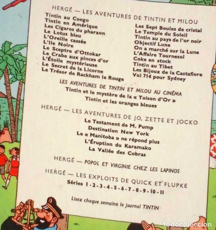 Cómics: TINTÍN LES 7 BOULES DE CRISTAL. EDIT. CASTERMAN. EN FRANCÉS. 1966 - Foto 3 - 113648799