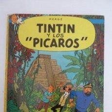 Cómics: TINTIN Y LOS PICAROS. 1980. 2º EDICIÓN. TAPA DURA.. Lote 113719399