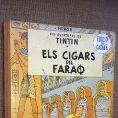 Cómics: TINTÍN - ELS CIGARS DEL FARAÒ 1965. Lote 114021583