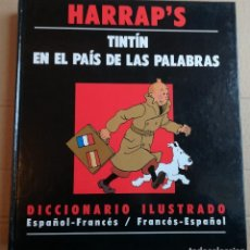 Comics - HARRAP'S TINTIN EN EL PAÍS DE LAS PALABRAS DICCIONARIO ESPAÑOL FRANCÉS - 114048347