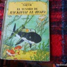 Cómics: LAS AVENTURAS DE TINTIN - EL TESORO DE RACKHAM EL ROJO -3ª ED. AÑO 1965. Lote 114066547