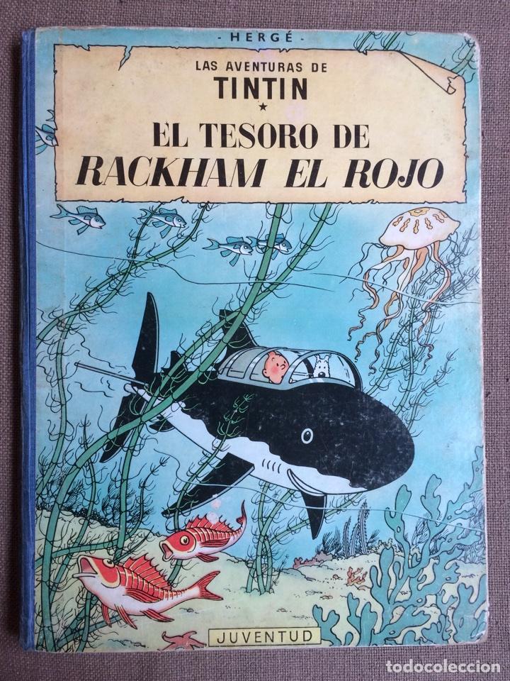 TINTÍN - EL TESORO DE RACKHAM EL ROJO. SEGUNDA EDICIÓN 1964 (Tebeos y Comics - Juventud - Tintín)