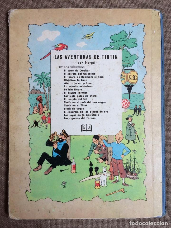Cómics: Tintín - El Tesoro de Rackham el Rojo. Segunda Edición 1964 - Foto 2 - 114071908