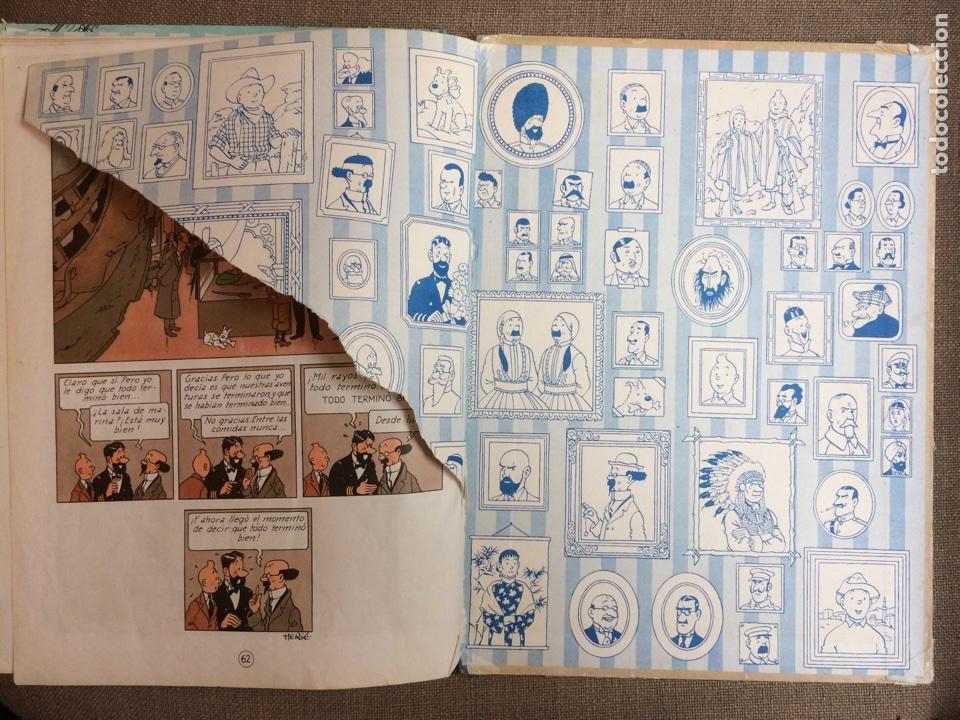 Cómics: Tintín - El Tesoro de Rackham el Rojo. Segunda Edición 1964 - Foto 6 - 114071908