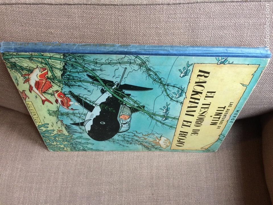 Cómics: Tintín - El Tesoro de Rackham el Rojo. Segunda Edición 1964 - Foto 7 - 114071908