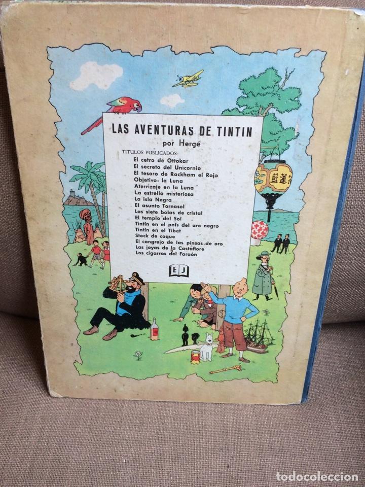 Cómics: Tintín - El Tesoro de Rackham el Rojo. Segunda Edición 1964 - Foto 9 - 114071908